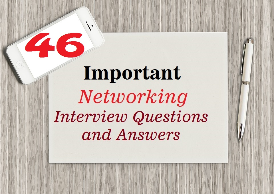 important networking interview questions