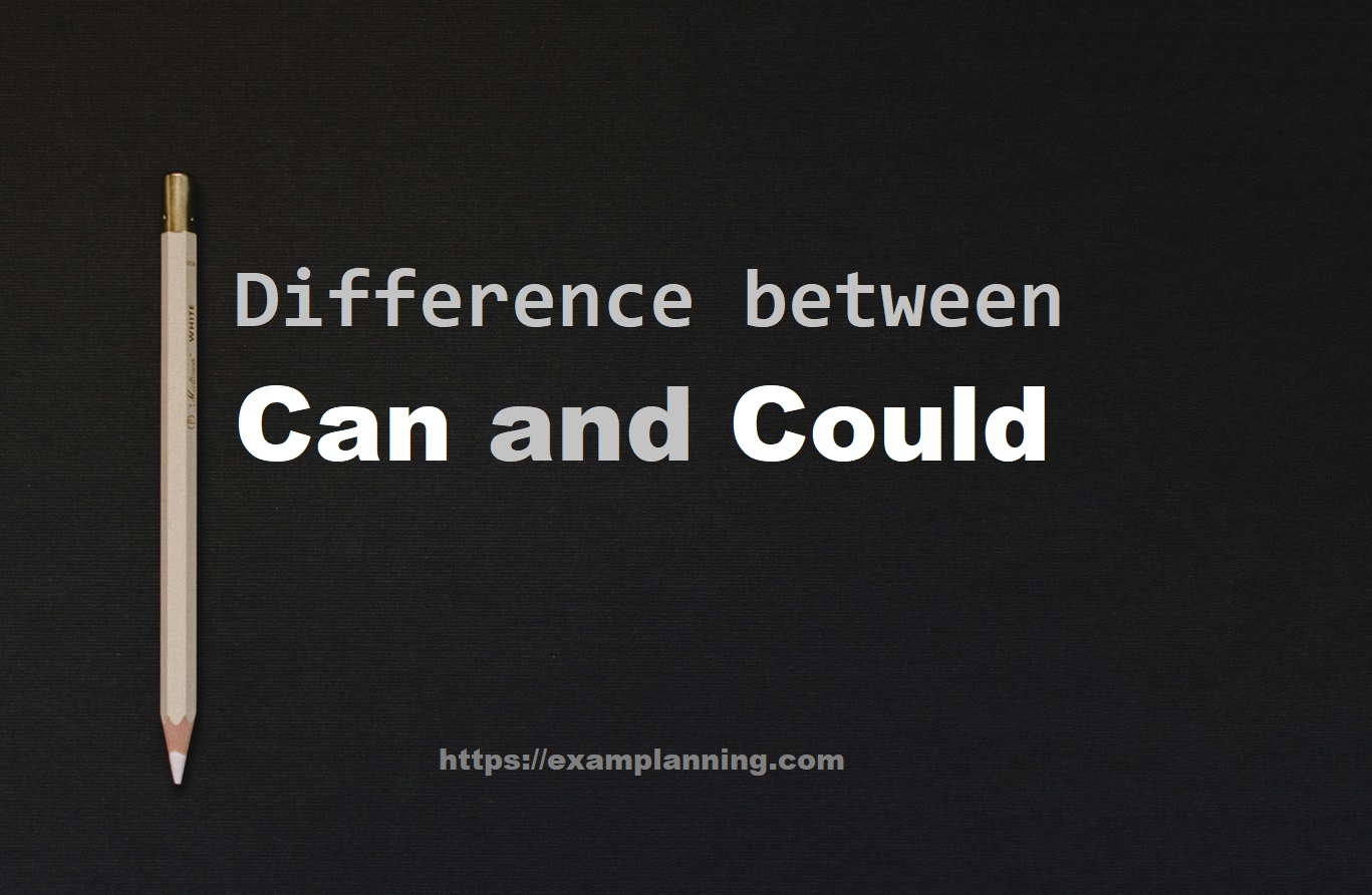 difference between can and could (2)