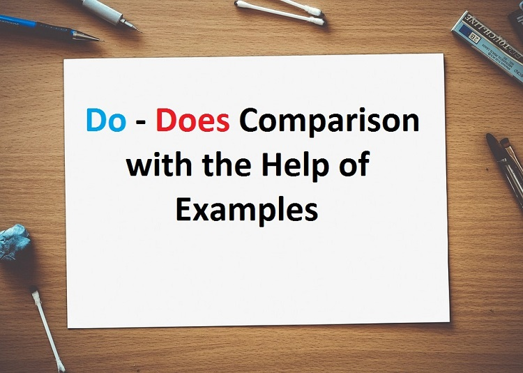 do does use, sentences exercise