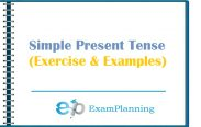 simple present tense (examples and exercise)