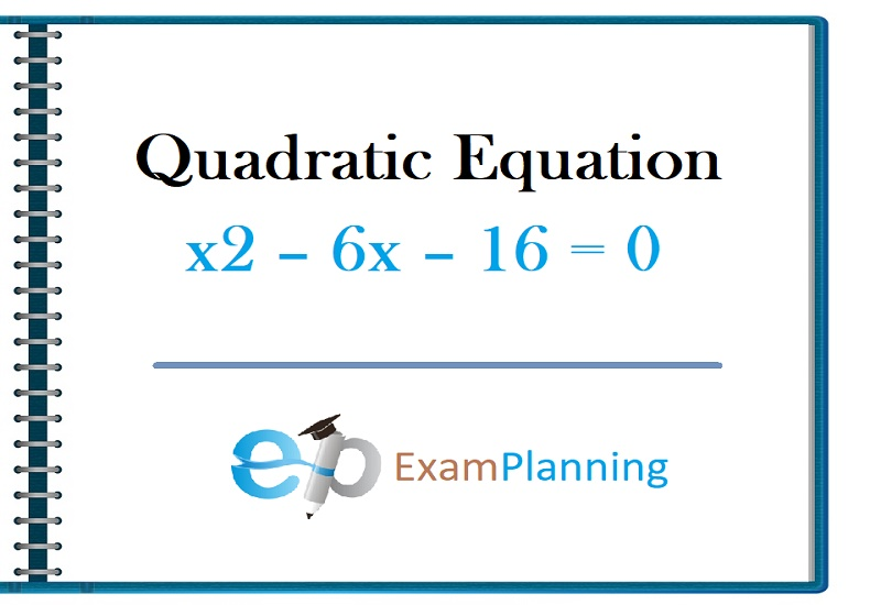 Quadratic Equation types and examples
