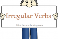 irregular verbs (list and examples)